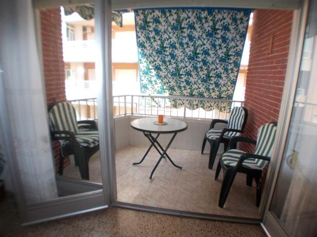 Terrasse appartement de Santa Pola