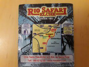 Rio Safari plan acces