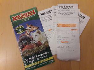 Rio safari tickets
